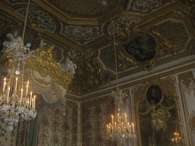 Fragment of a single room in Versailles